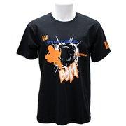 X513-824 40 僕のヒーローアカデミア Tシャツ 爆豪勝巳 ブラック Lサイズ [キャラクターグッズ]