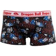 D1313-902 40 ドラゴンボール超(スーパー) ボクサーブリーフ ロゴ柄 ブラック Lサイズ [キャラクターグッズ]