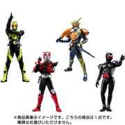 HG仮面ライダー NEW EDITION Vol.01 1個 [コレクショントイ]