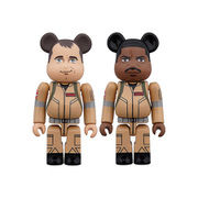 BE@RBRICK GHOSTBUSTERS 100% 2PC SET Peter Venkman/Winston Zeddemore [塗装済み可動フィギュア 全高約70mm]