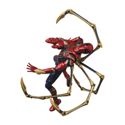 MAFEX No.121 IRON SPIDER AVENGERS ENDGAME Ver. [塗装済み可動フィギュア 全高約145mm]