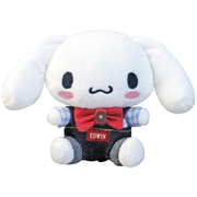 サンリオキャラクターズ×EDWIN ぬいぐるみ SSサイズ シナモロール [キャラクターグッズ]