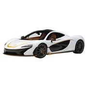 76064 1/18 マクラーレン P1 ホワイト/オレンジ・アクセント [コンポジットダイキャストミニカー]