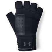 M Weightlifting Glove 1328621 BLK/BLK/BLK(001) LGサイズ [トレーニング グローブ メンズ]
