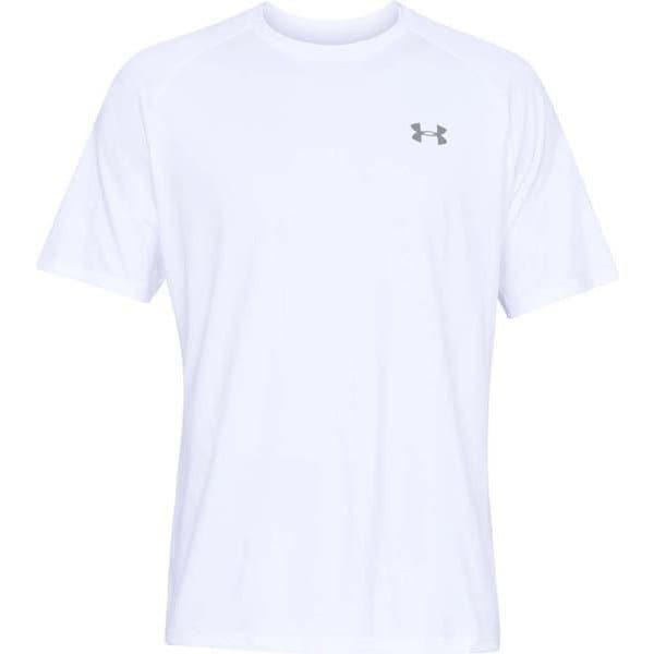 Tech 2.0 SS Tee 1358553 WHT/OVC(100) LGサイズ [フィットネス トレーニングシャツ メンズ]