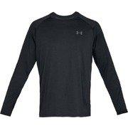 Tech 2.0 LS 1358562 BLK/GPH(001) SMサイズ [フィットネス トレーニングシャツ メンズ]