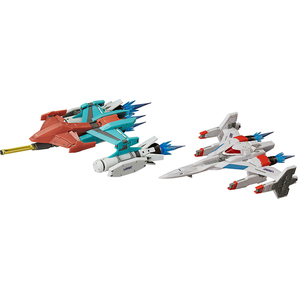 figma ギャラクシアン / ギャラガ Galaxian Galaxip GFX-D001a / Galaga Fighter GFX-D002f [塗装済み可動フィギュア 全長約130mm]