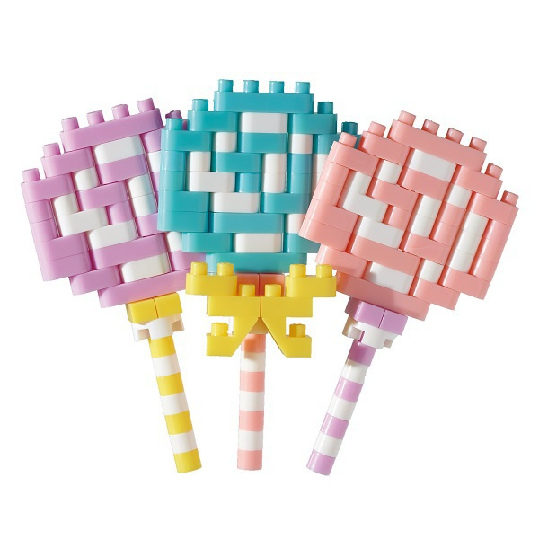 NBC_306 nanoblock(ナノブロック) ロリポップキャンディ [対象年齢:12歳~]