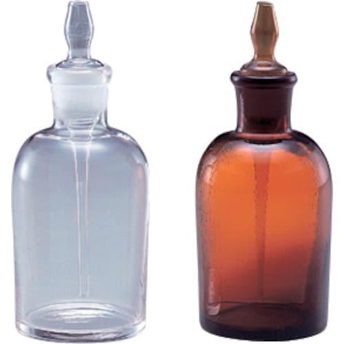 1-4395-02 [AS スポイト瓶(ゴム無)(白) 60]