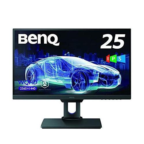 PD2500Q [25型 WQHD IPSパネル 輝度自動調整 高さ調節 デザイナー向け液晶ディスプレイ]
