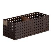 BricksS9025 Br [ブリックスS9025 <350ミドルL>仕切り板・名札付き ブラウン]
