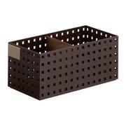 BricksS9015 Br [ブリックスS9015 <280ミドルL>仕切り板・名札付き ブラウン]