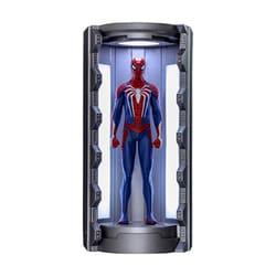 ビデオゲーム・マスターピース COMPACT Marvel's Spider-Man ミニチュア・フィギュア シリーズ1 スパイダーマン アドバンスド・スーツ/スパイダースーツ格納庫付き [塗装済み完成品フィギュア 全高約120mm]