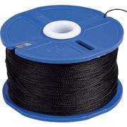 ポリエステル水糸 リール巻 極太 1.2mm 120m ブラック