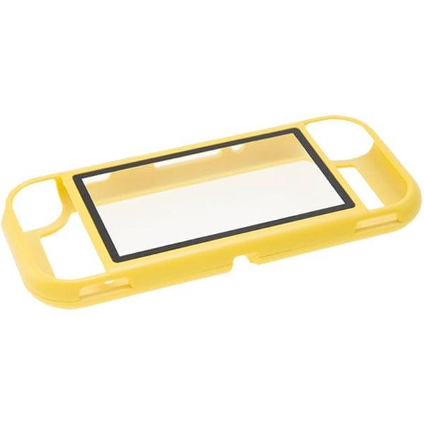SWITCH Lite用 ガラスパネル付きマグネットバンパー イエロー