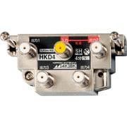 屋内用4分配器 4K8K対応 一端子電通型 本体可動式