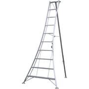 アルインコ アルミ製園芸用三脚KWX 天板高さ2.9