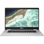 C523NA-EJ0130 [ノートパソコン ASUS Chromebook Chrome OS/シルバー/15.6型 1920×1080(FHD)/Celeron N3350/LPDDR4 8GB/eMMC 64GB]