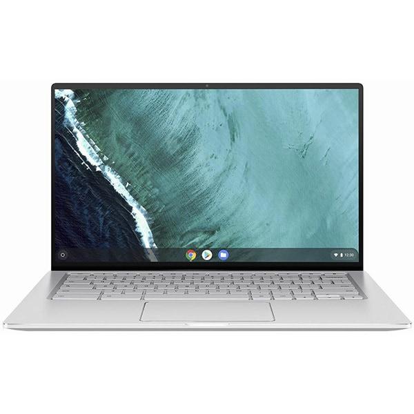 C434TA-AI0095 [ノートパソコン ASUS Chromebook Flip Chrome OS/シルバー/14型 1920×1080(FHD)/m3-8100Y/LPDDR3 4GB/eMMC 32GB/タッチパネル搭載]