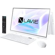 PC-HA370RAW [LAVIE Home All-in-one 23.8型/Celeron 5205U/メモリ 8GB/1TB(HDD)/Windows 10 Home 64bit/Microsoft Office Personal 2019/ホワイト]
