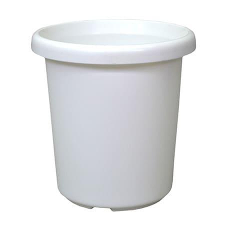 長鉢F型 4号 ホワイト