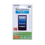 AVS-A19FLFANG [Walkman A(NW-A100シリーズ)対応 保護フィルム 高光沢/防指紋]