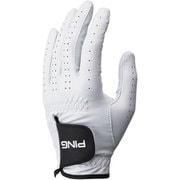 GL-P201 [天然皮革グローブ メンズ 左手着用(右利き用)24cm ホワイト]