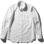 ロングスリーブスタンダードオックスフォードボタンダウンシャツ LONG SLEEVE STANDARD OXFORD BD SHIRT(MEN'S) MX60101 ホワイト(W) Mサイズ [アウトドア シャツ メンズ]