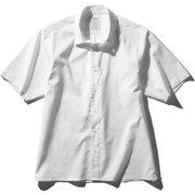 ショートスリーブスタンダードオックスフォードボックスシャツ SHORT SLEEVE STANDARD OXFORD BOX SHIRT(MEN'S) MX60102 ホワイト(W) Lサイズ [アウトドア シャツ メンズ]