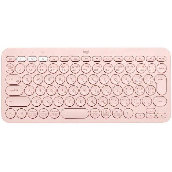 K380RO [マルチデバイス Bluetoothキーボード 日本語配列 ローズ]