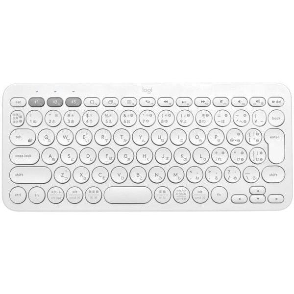 K380OW [マルチデバイス Bluetoothキーボード 日本語配列 オフホワイト]