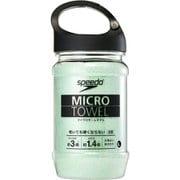 マイクロセームタオル(L) SE62002 (GR)グリーン [スポーツウェアアクセサリ スポーツタオル]