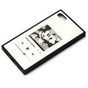 PG-IT7DGT02MKY [iPod Touch(第5/6/7世代)用 ガラスハイブリッドケース ミッキーマウス/ホワイト]