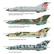 EDU4435 MiG-21MF [1/144スケール プラモデル]