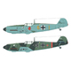 EDU84158 Bf109E-1 [1/48スケール プラモデル]