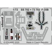 EDU73702 F-35B エッチングパーツ イタレリ用 [1/72スケール エッチングパーツ]