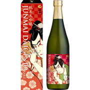 白鶴 純米大吟醸 浮世絵ラベル 15~16度 720ml [日本酒]