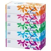 エルモア ティシュー 200組(400枚) 5箱パック [ボックスティッシュ]
