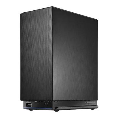 HDL2-AAX8W [2.5GbE対応LinuxベースOS搭載 法人向け2ドライブBOXタイプNAS 8TB]