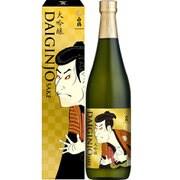 白鶴 大吟醸 浮世絵ラベル 15~16度 720ml [日本酒]