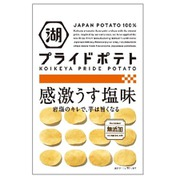 KOIKEYA PRIDE POTATO 感激うす塩味 60g