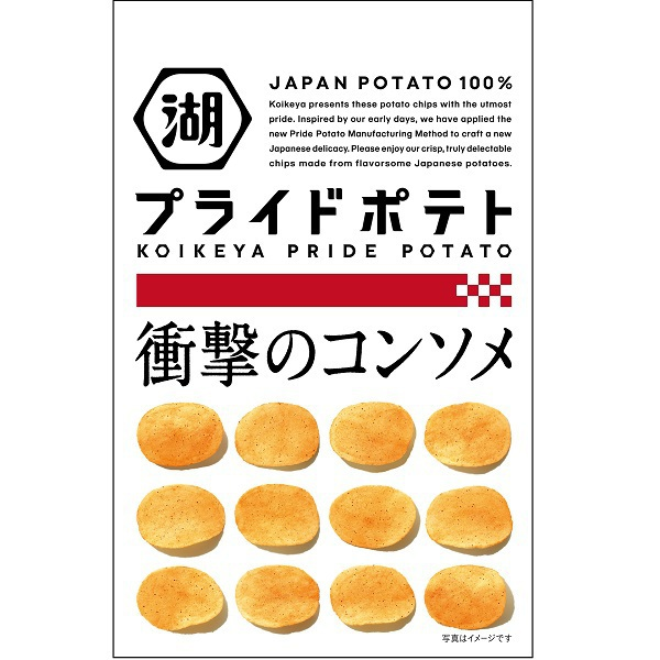 KOIKEYA PRIDE POTATO 衝撃のコンソメ 58g