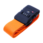 MBZ-SBL02/OR [ジャストフィットスーツケースベルト TSAロック搭載 オレンジ]