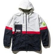 フォーミュラージップインジップウィンドジャケット Formula ZIZ Wind Jacket HH12030 (W)ホワイト Lサイズ [アウトドア ジャケット メンズ]