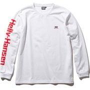 ロングスリーブフォーミュラーティー L/S Formula Tee HH32036 (W)ホワイト XLサイズ [アウトドア カットソー メンズ]