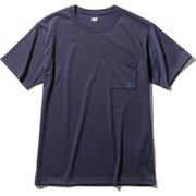 ショートスリーブロゴポケットティー S/S Logo Pocket Tee HOE62007 (HB)ヘリーブルー Lサイズ [アウトドア カットソー メンズ]