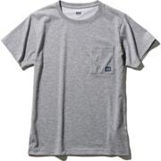 ショートスリーブロゴポケットティー S/S Logo Pocket Tee HOE62007 (Z)ミックスグレー WMサイズ [アウトドア カットソー レディース]