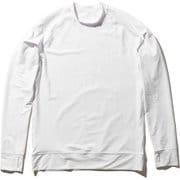 ロングスリーブラッシュガード L/S Rashguard HE82026 (W)ホワイト Mサイズ [ラッシュガード メンズ]