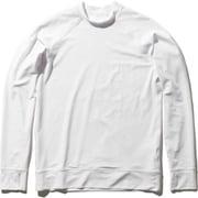 ロングスリーブラッシュガード L/S Rashguard HE82026 (W)ホワイト WMサイズ [ラッシュガード レディース]