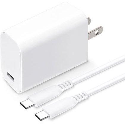 PG-PD18AD4W [USB PD 電源アダプタ USB-Cポート USB-C & USB-Cケーブル付き ホワイト]